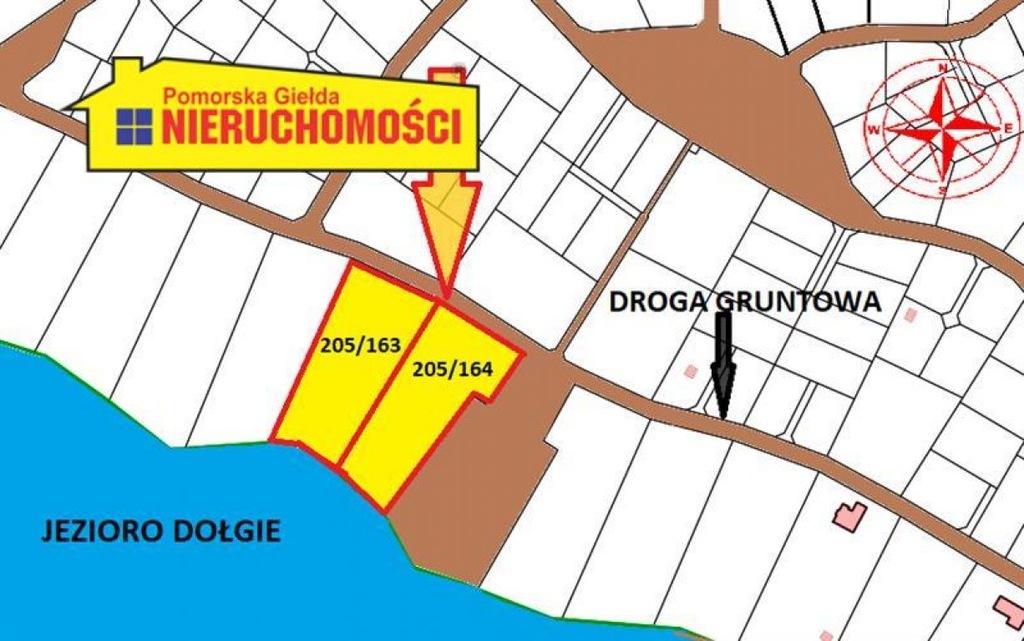 Działka, Dołgie, Biały Bór (gm.), 11309 m²