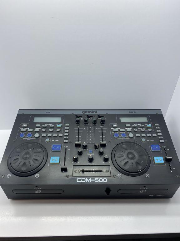 """MIKSER GEMINI CDM 500 DLA DJ""""A !!!"""