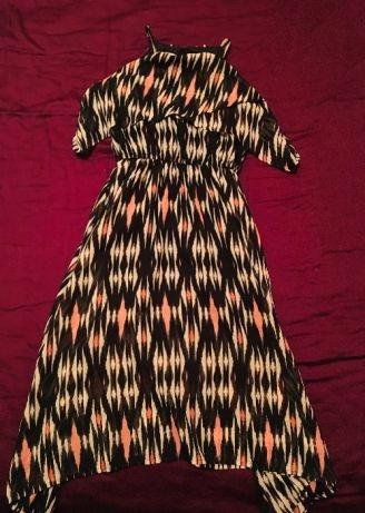 H&M conscious sukienka zwiewna lato 140
