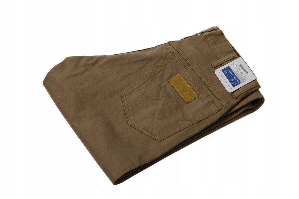 Wrangler Texas Stretch Materiałowe Spodnie W32 L36