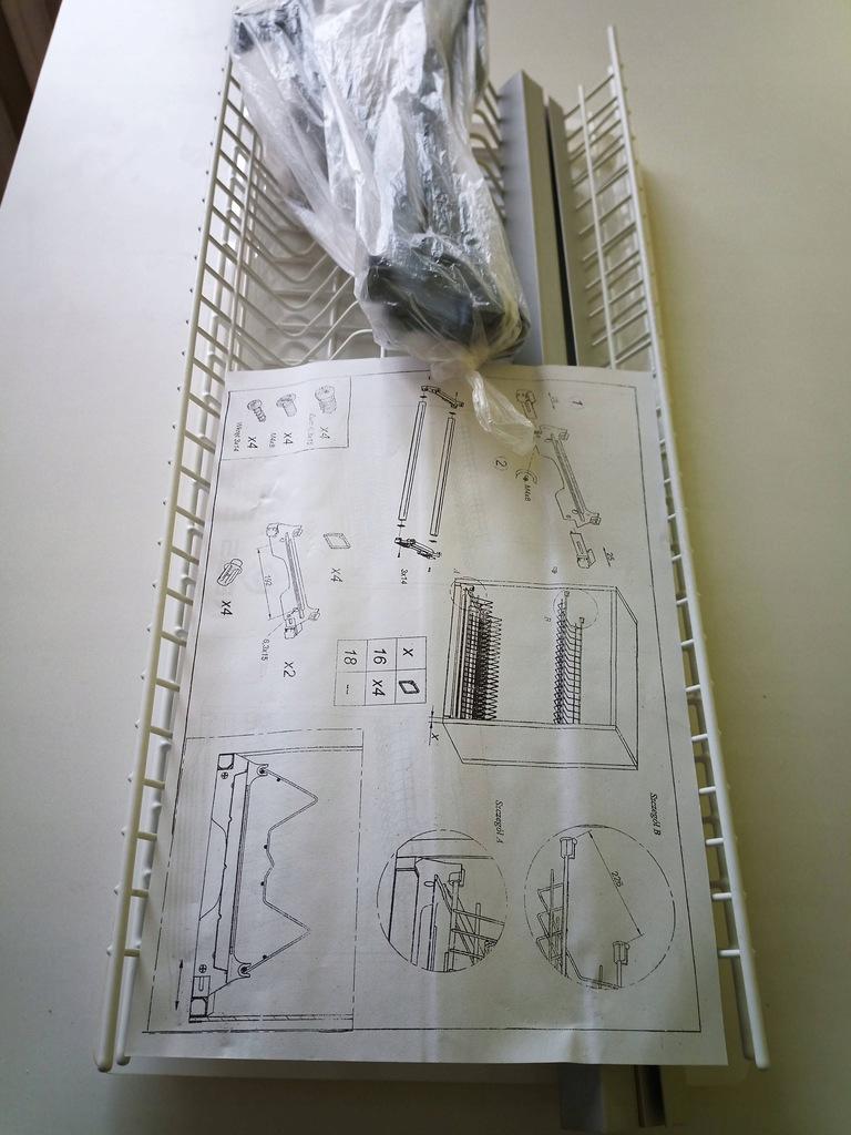ociekarka do szfki 60cm,biała Variant 1 Rejs
