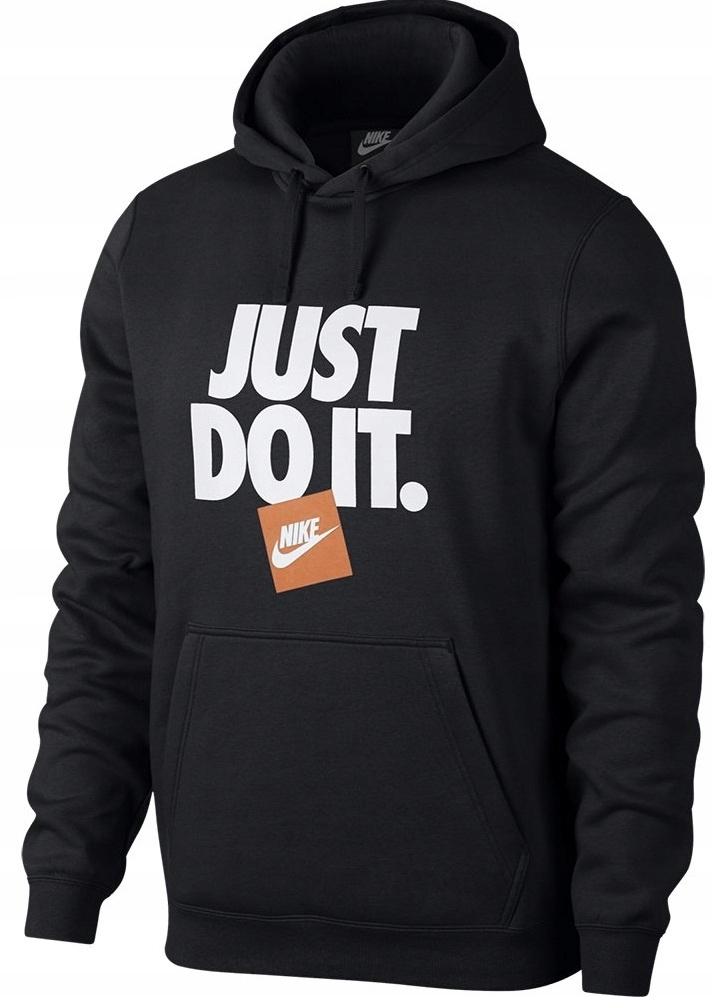 M BLUZA NIKE NSW JUST DO IT AR2578 010 CZARNA