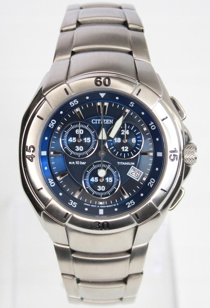 Citizen Chronograph Titanium F500-S038871