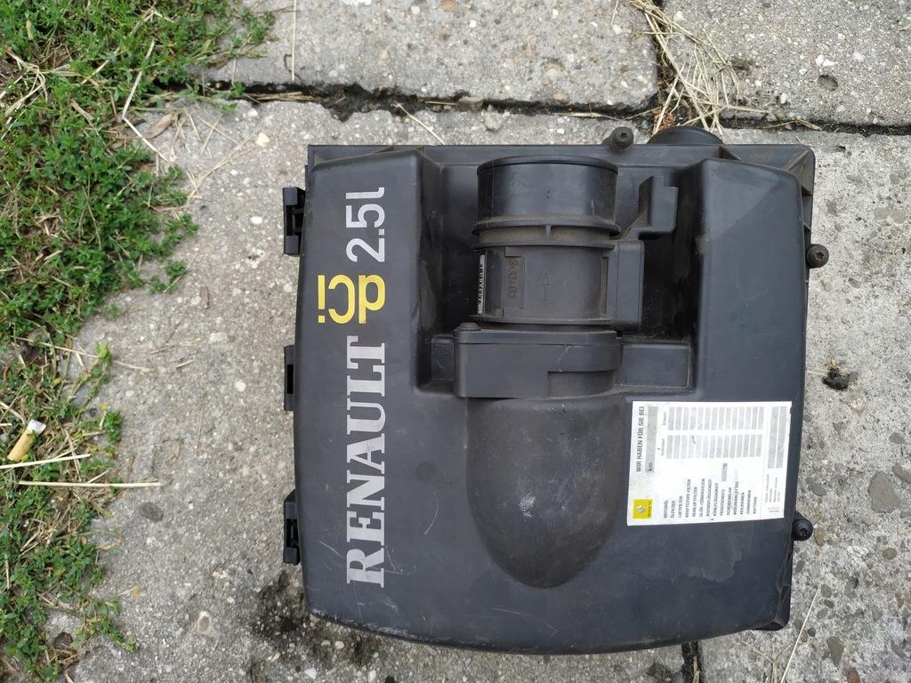 RENAULT Trafic 2.5dci obudowa filtra powietrza
