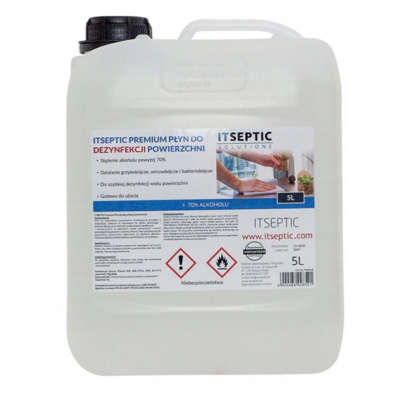 Płyn do czyszczenia i dezynfekcji powierzchni