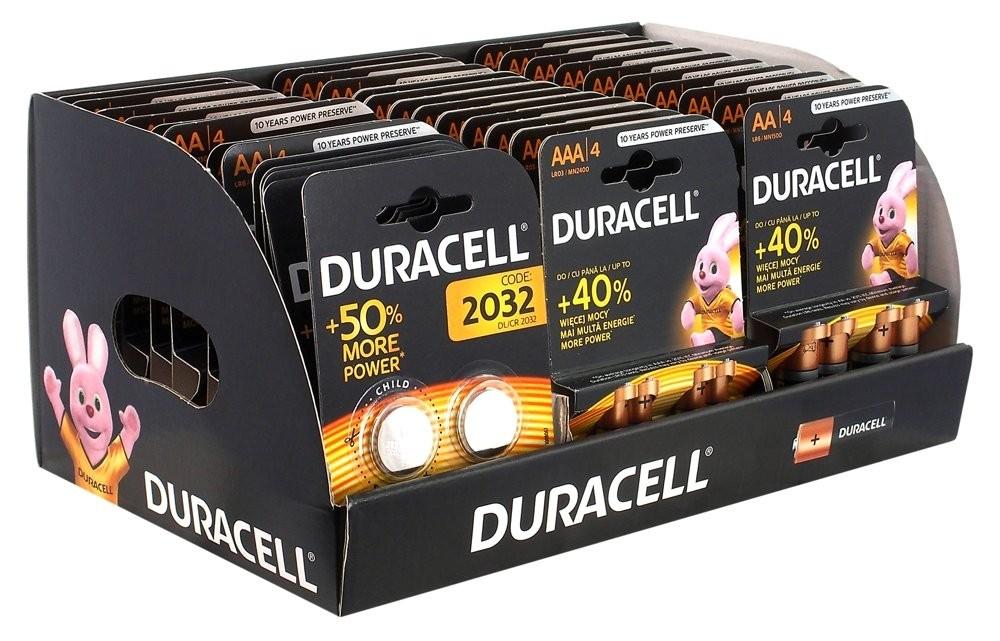 Zestaw baterii AAA/LR3 BL4 Basic -10szt, AA/LR6-,-