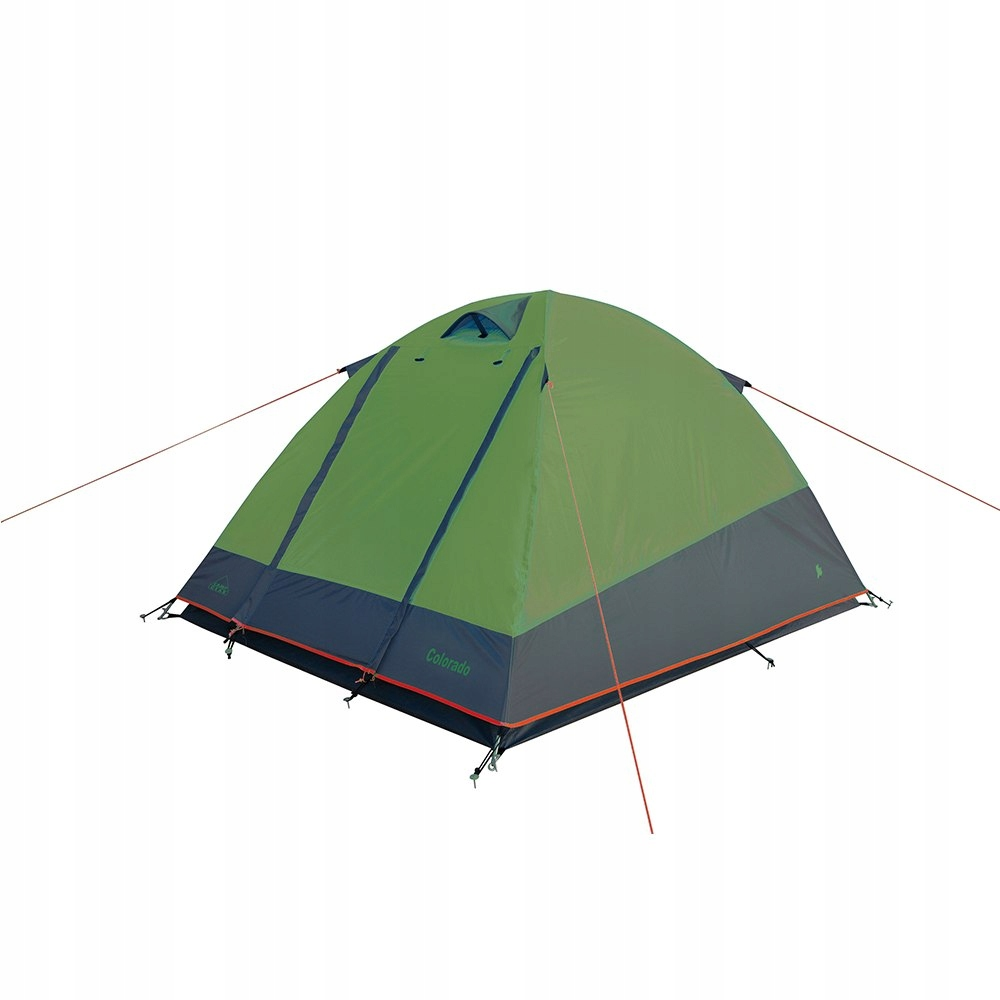 Namiot Missouri szaro-limonkowy 2os