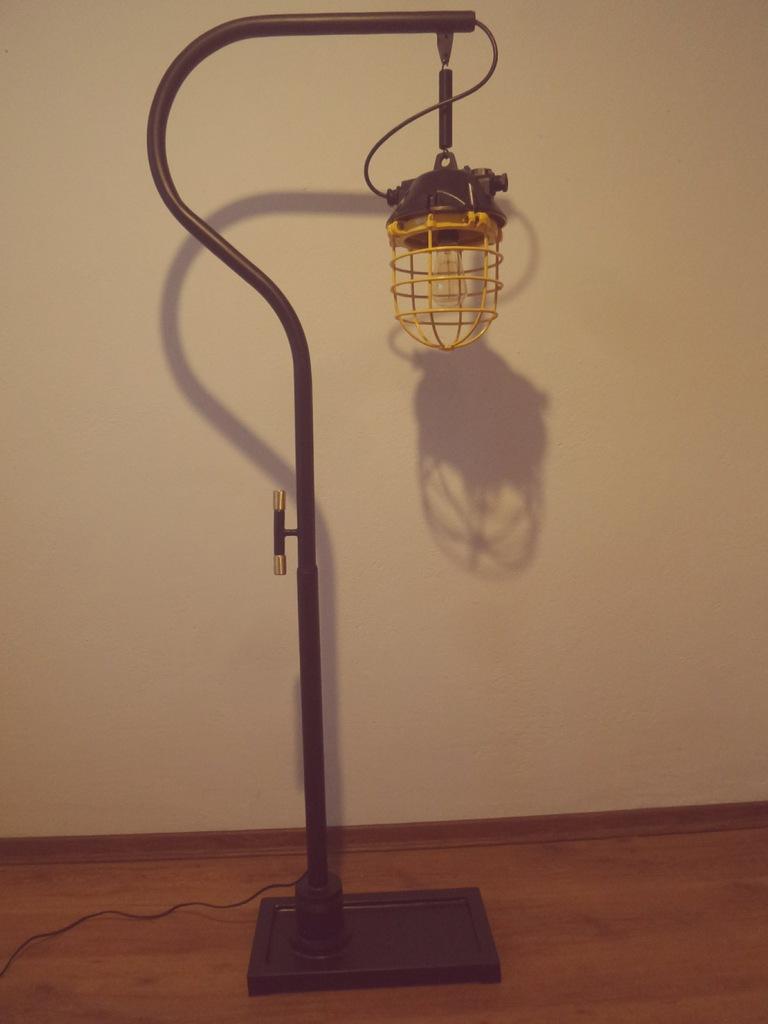 Lampa Stojąca Retro Loft Vintage Industrial