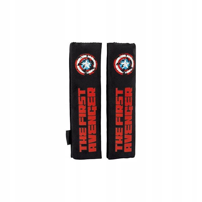 Safety Belt Pads Capitán América CAPA105 Czarny (2
