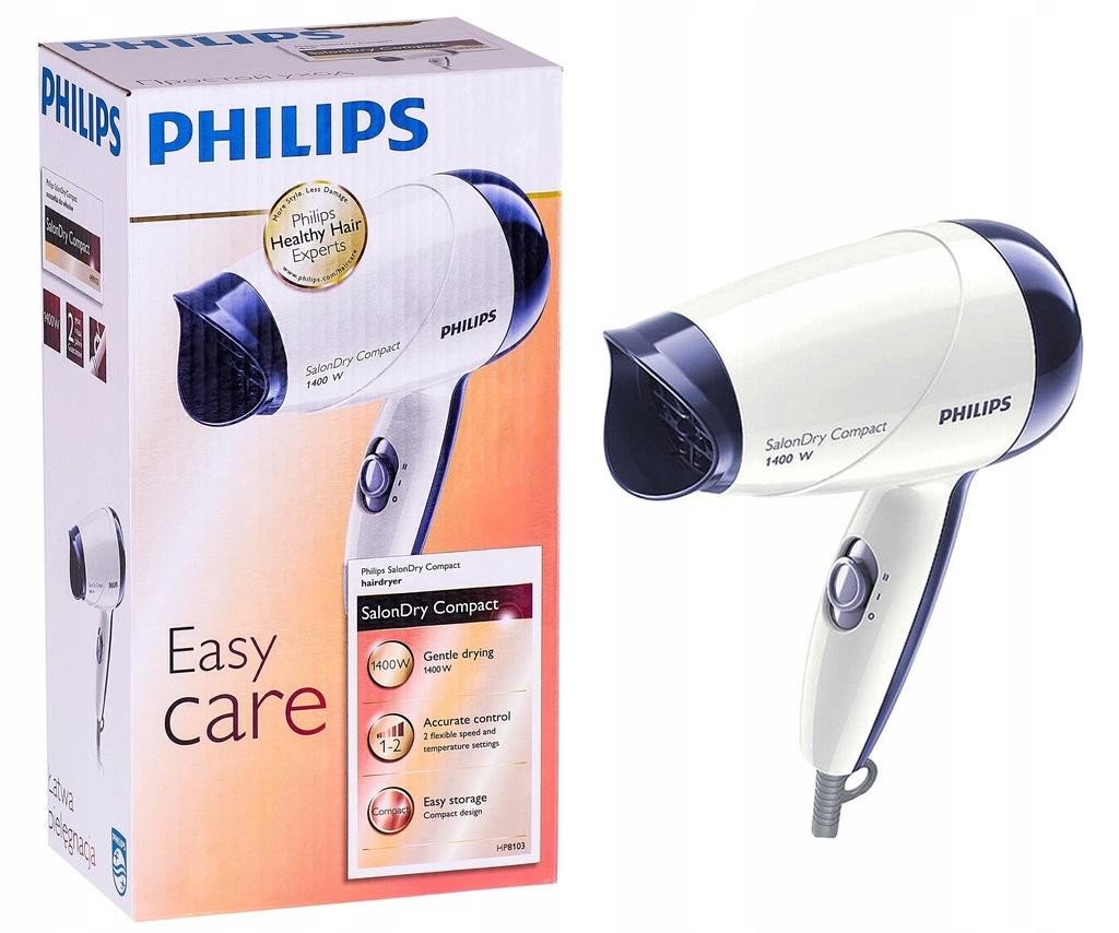 Philips suszarka do włosów Easy Care 1400W HP8103