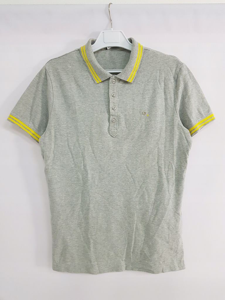 DIESEL_męska bawełniana koszulka polo_M