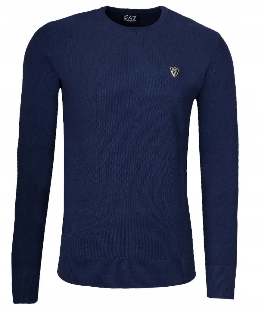 EMPORIO ARMANI EA7 markowy męski sweter 2019 XXXL