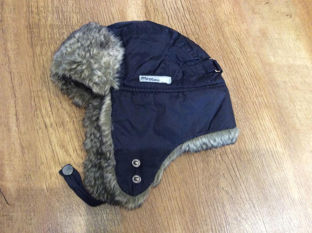 Ciepla czapka zimowa r 110 52-54 cm