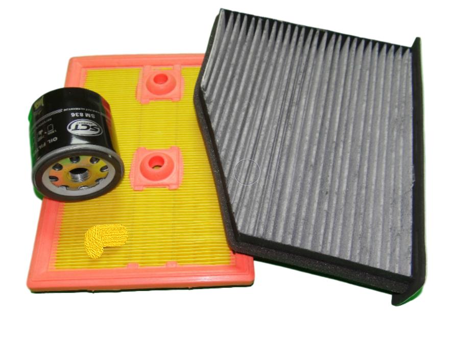 Zestaw filtrów Seat Alhambra (7V) 1.4 TSI (110kW)