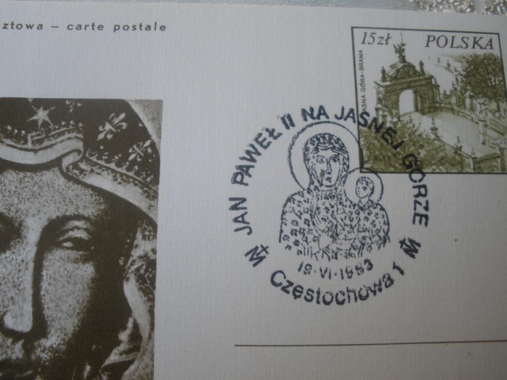Karta Maximum 600 lat obrazu Jasnogórskiego