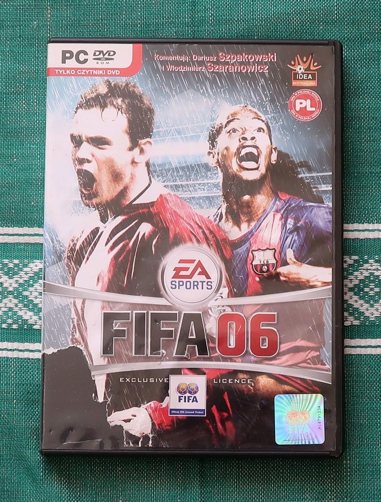 GRA KOMPUTEROWA NA PC FIFA 06 / 2006 PL+KATALOG AE
