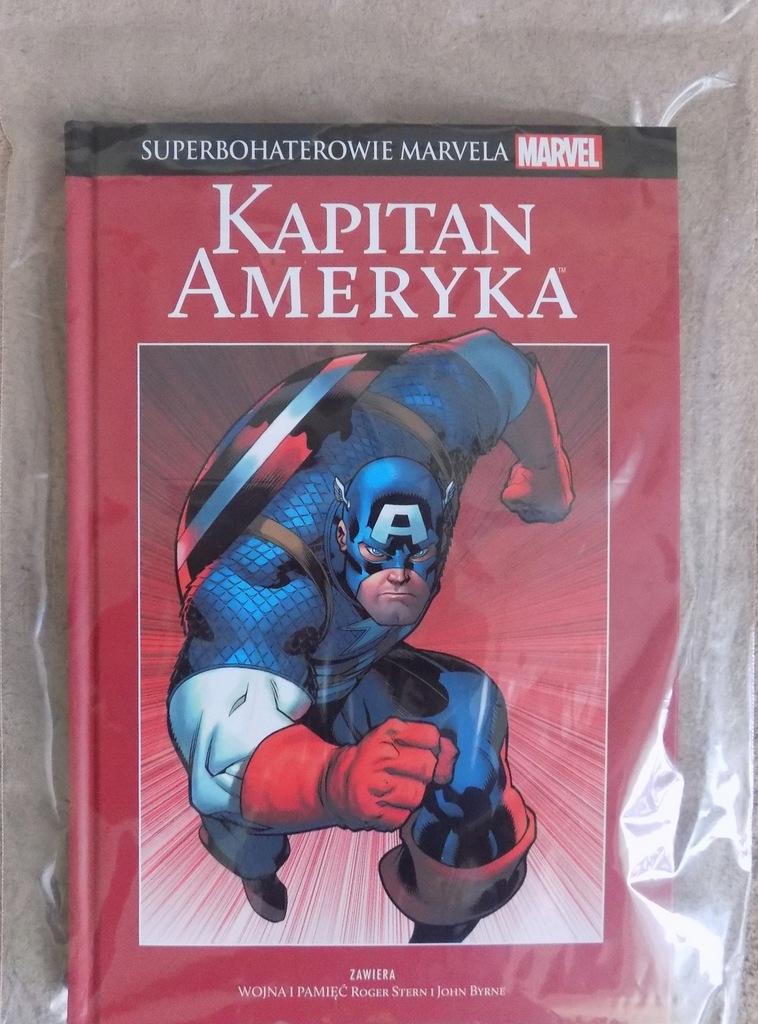 Superbohaterowie Marvela, t. 4 Kapitan Ameryka