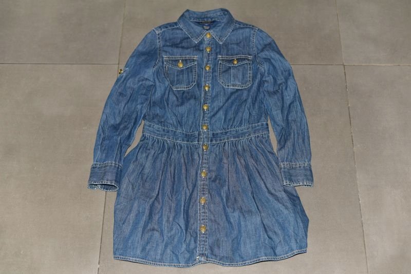 Sukieneczka jeansowa Ralph Lauren rozmiar 8