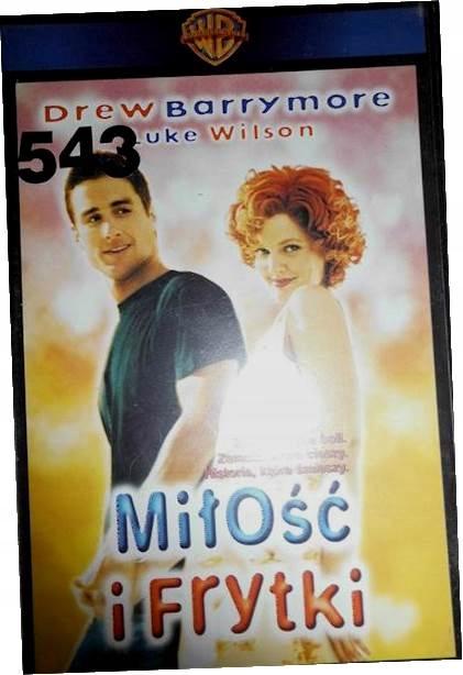 Miłość i frytki - VHS kaseta video