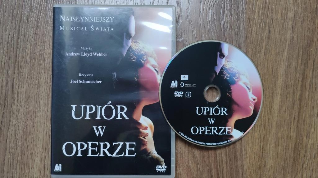 Upiór w operze DVD Schumacher