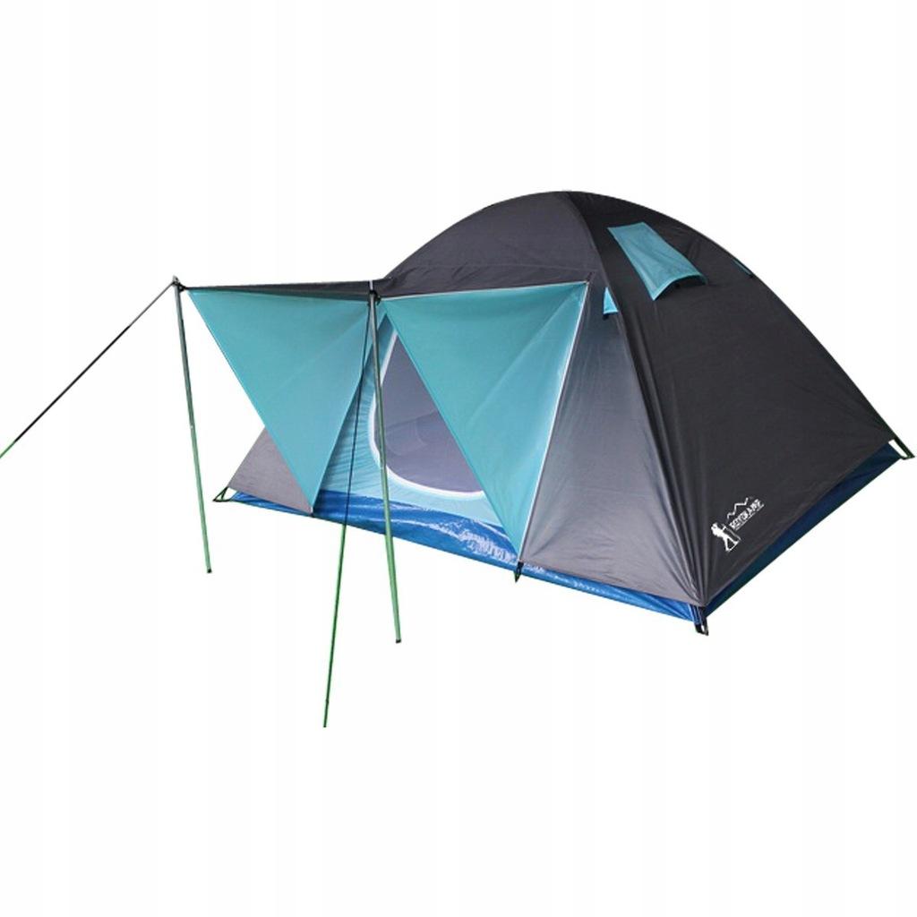 Namiot turystyczny 4 osobowy Iglo Savana 210X240X1
