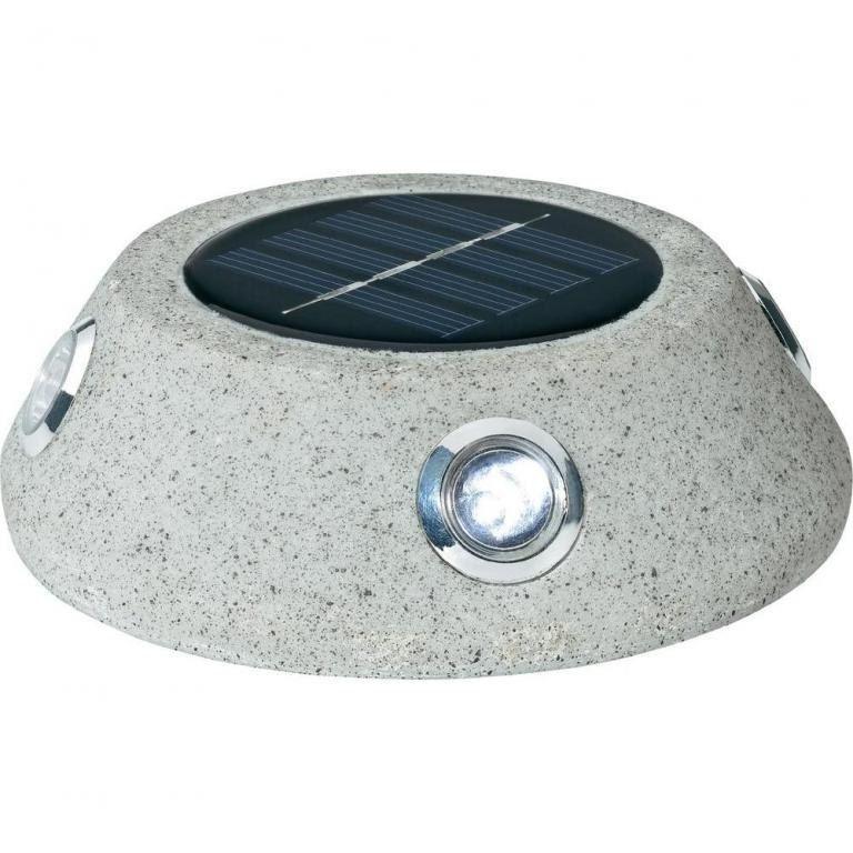 Lampka solarna w kamieniu Basetech RFD SLS033 IP44
