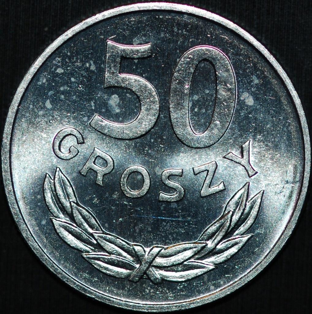 50 groszy 1983 - menniczy egzemplarz