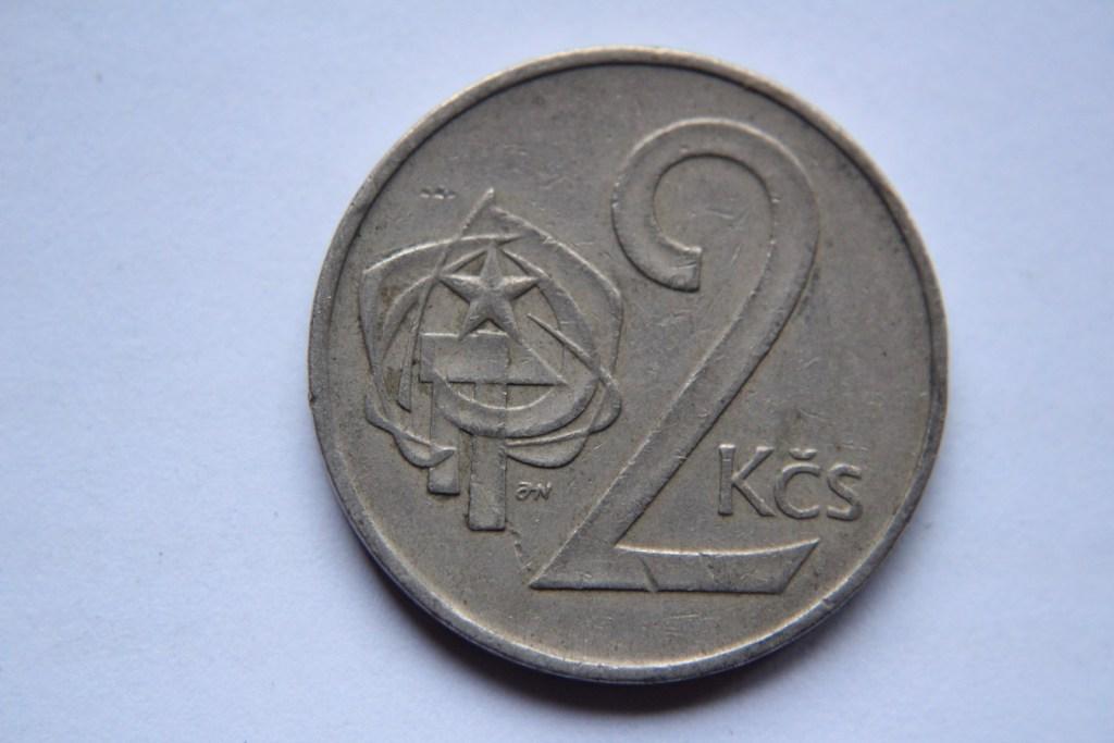 2 KORONY 1972 CZECHOSŁOWACJA -W123