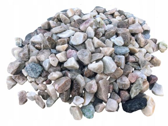 Grys Żwir różnokolorowy kamień ozdobny 8-16mm 5kg