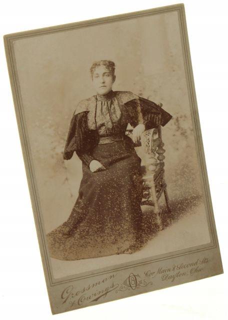 Portret kobiety Fotografia Dayton ca 1900