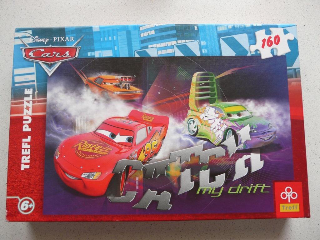 PUZZLE CARS CATCH my drift 160 elementów