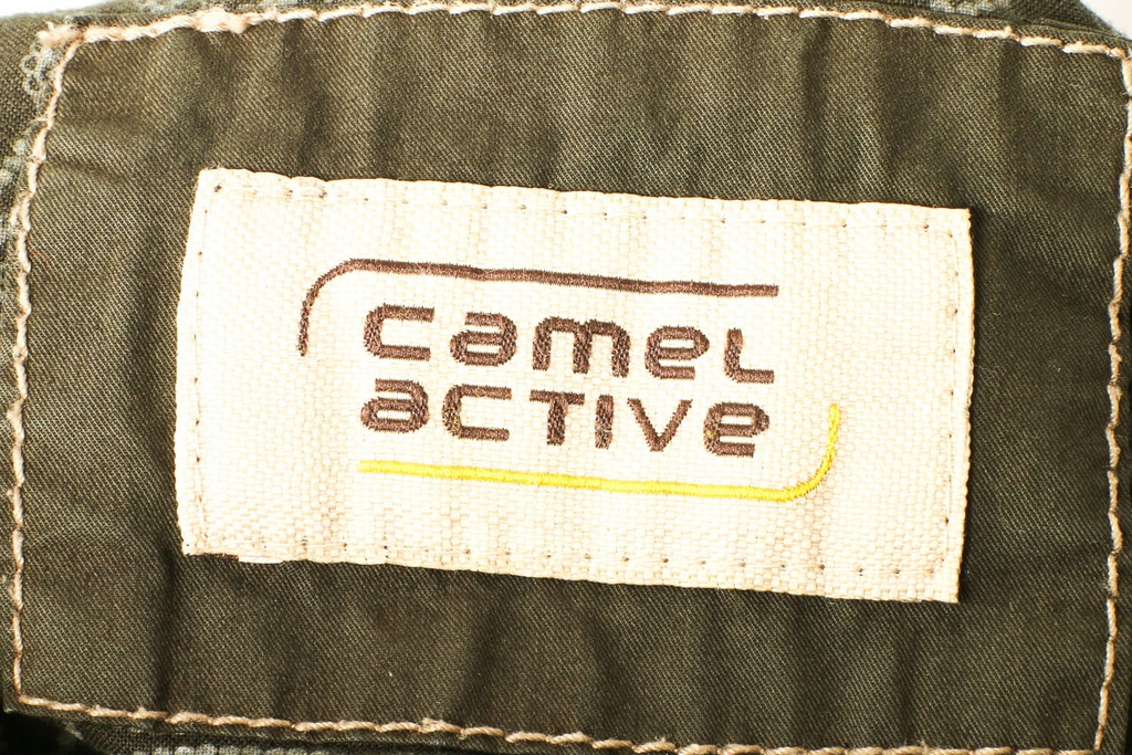 Camel Active Kurtka Męska Vintage Oliwkowa roz 56