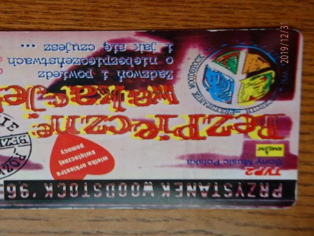 Karta telefoniczna przystanek WOODDSTOCK 1996 WOŚP