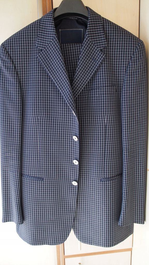 luksusowy NOWY garnitur Gianni Versace r.54-UNIKAT