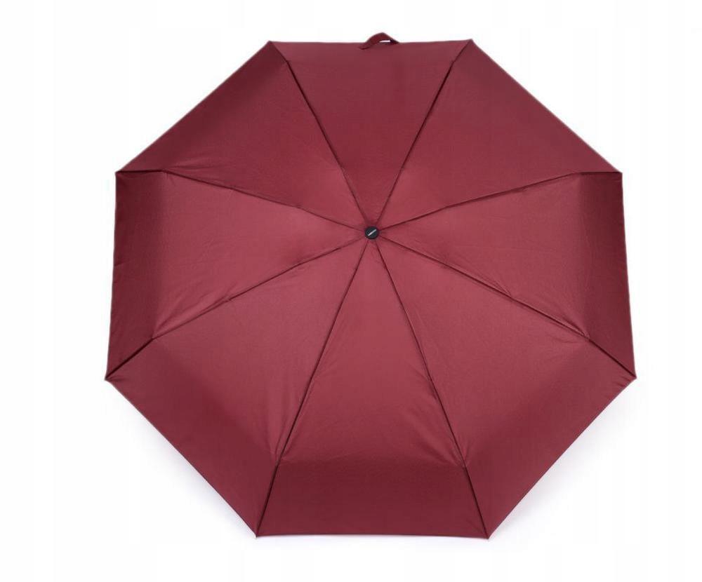 1szt bordeaux mini składany parasol panie