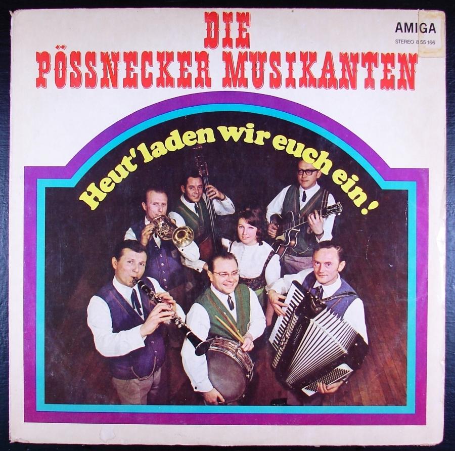 DIE POSSNECKER MUSIKANTEN - 1976 - VG