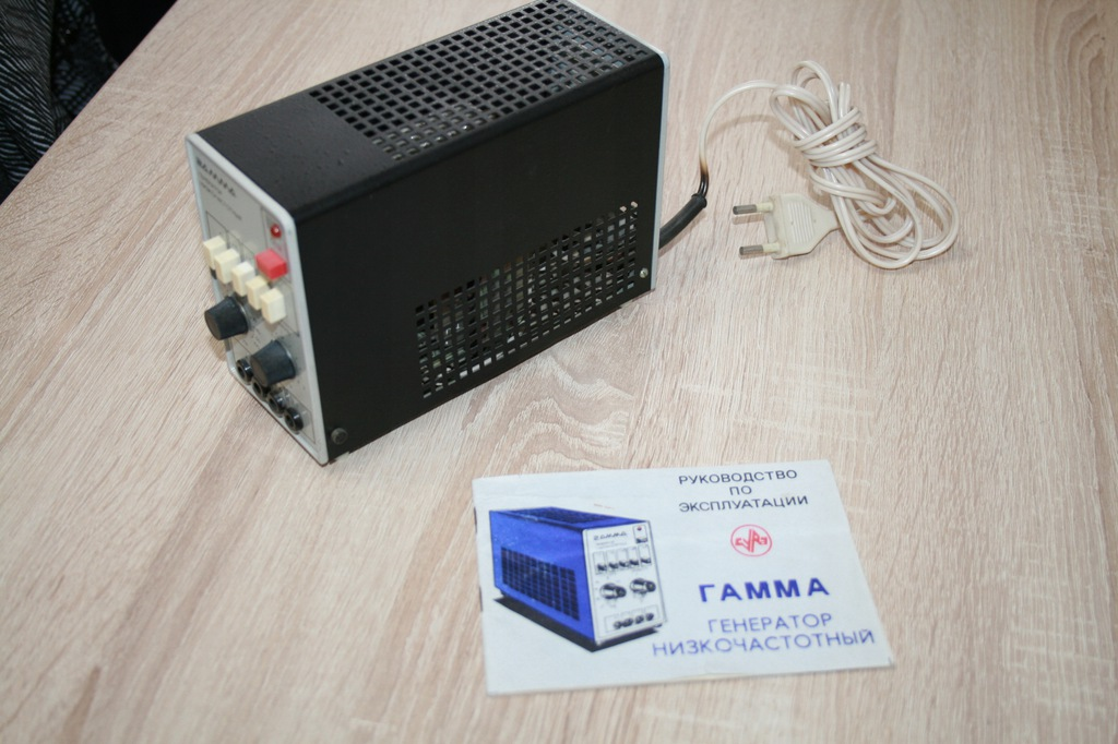 Generator GAMMA - instrukcja , schemat