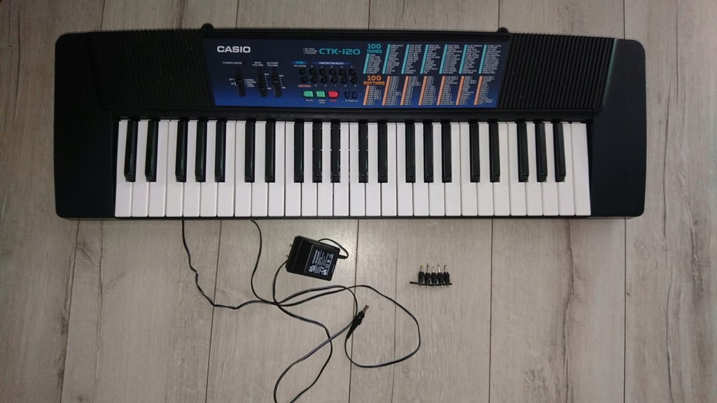 organy keyboard casio ctk 120