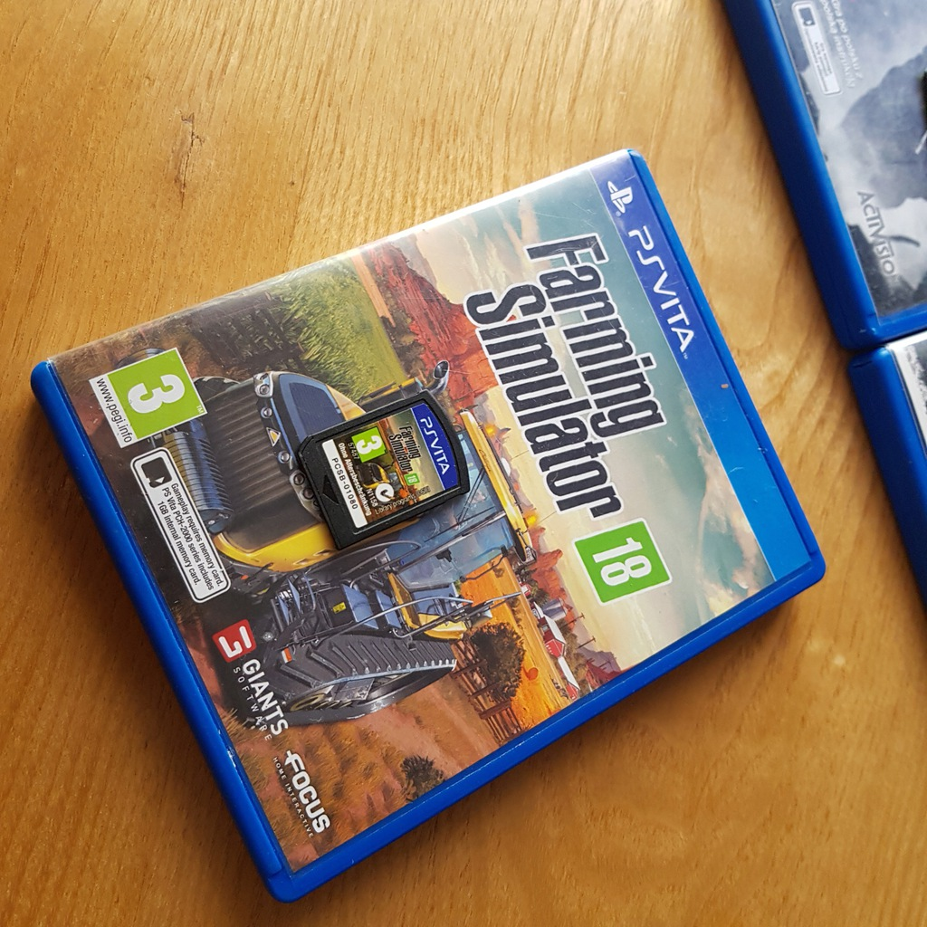 Farming Simulator 18 sprawdz Playstation Vita