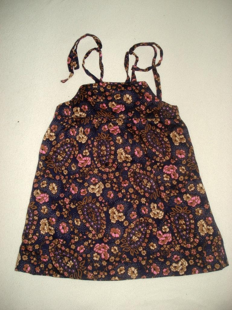 Kwiatowa sukienka 80