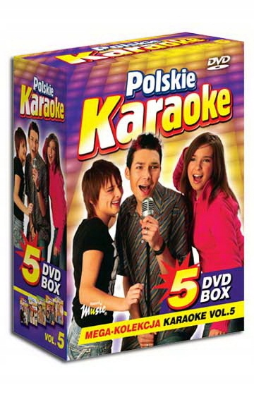 DVD POLSKIE KARAOKE VOL.5 BOX