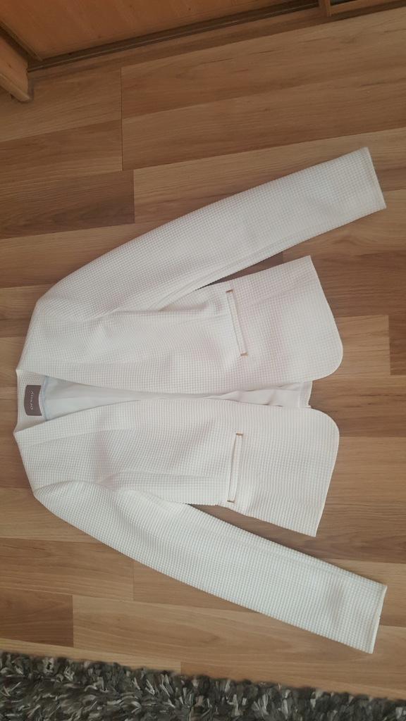 Orsay 36 marynarka biała żakiet