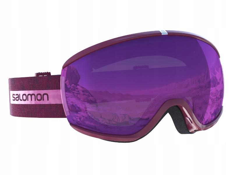 Salomon IVY pink gogle damskie narty snowboard S2