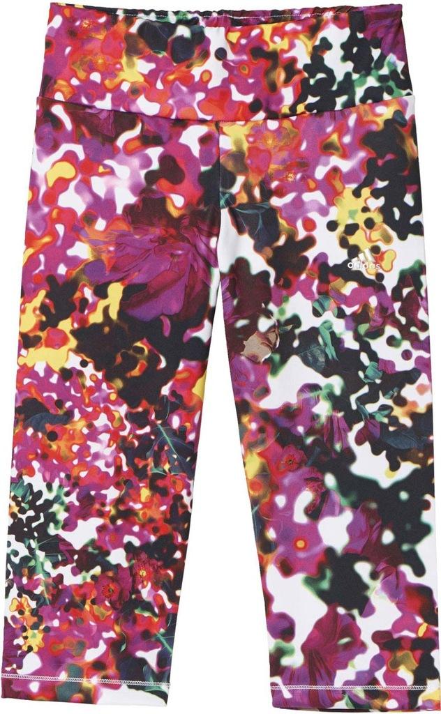 Legginsy Adidas YG W 3/4 TG Q2 AJ5345 r.XS