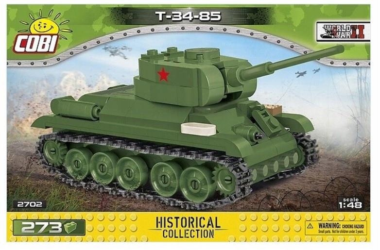 Cobi Klocki Klocki HC WWII T-34-85