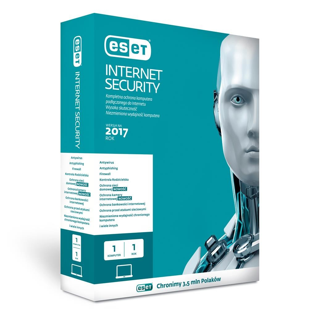 ESET Internet Security BOX 1U 36M