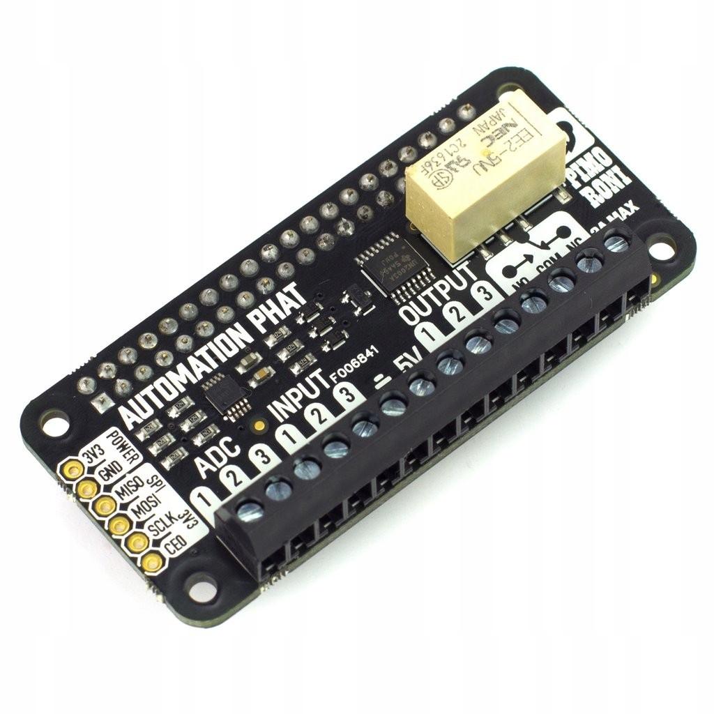 Automation pHAT 1x przekaźnik + LED dla RPi