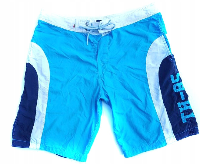 SP2731 HILFIGER blue SWIM beach SHORTS M