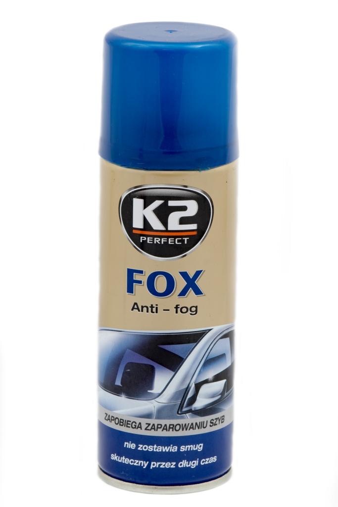 K2 FOX Zapobiega parowaniu szyb antypara 200 ml