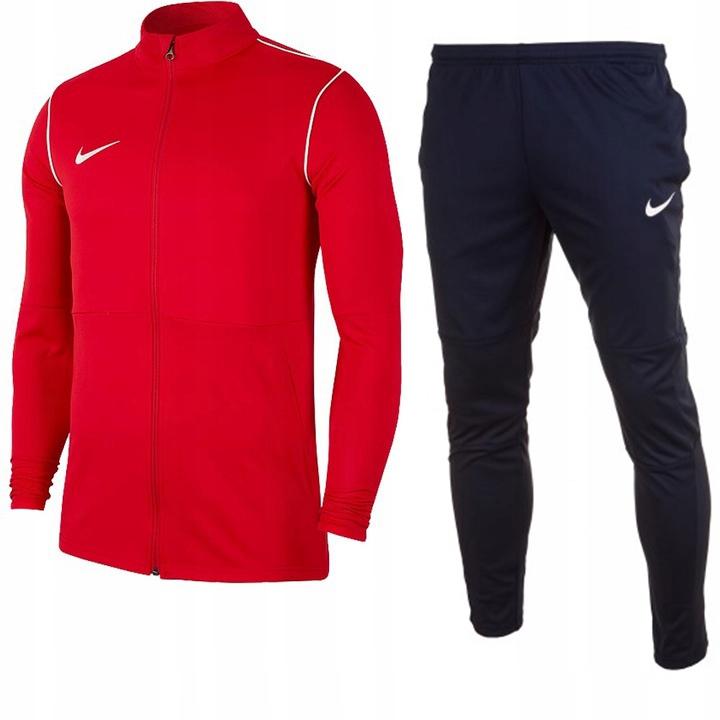 Dres Nike Dry Park 20 komplet męski czerwony r L